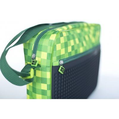 Kreative Pixel Umhängetasche grün kariert Minecraft PXB-04-D24