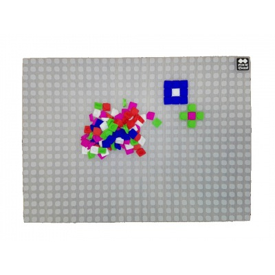 Kreative Pixel Spielplatte transparent PXX-01-00