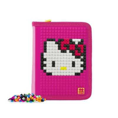 Kreative Pixel Schulfedermappe Hello Kitty - Einhorn PXA-04-88