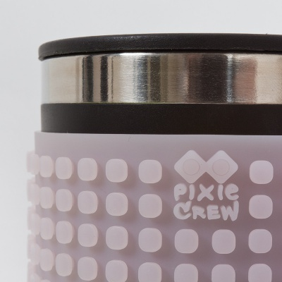 Kreative Pixel Thermotasse grau PXN-02-98