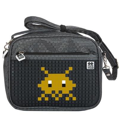 Kreative Pixel Umhängetasche PIXIE CREW PXB-09-L24 in schwarz