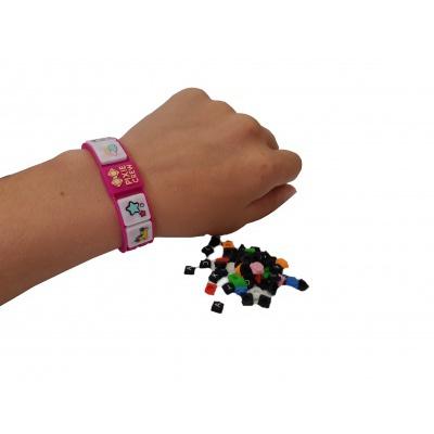 Kreatives Pixel Armband violett HELLO KITTY